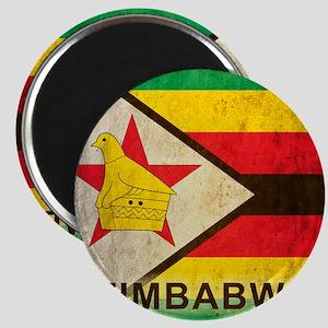 Vintage Zimbabwe Magnet