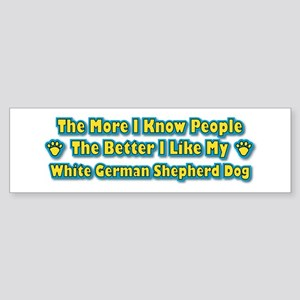 Like Shepherd Bumper Sticker