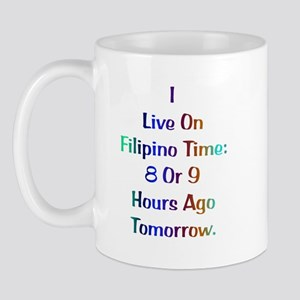 Filipino Time Gifts Mug