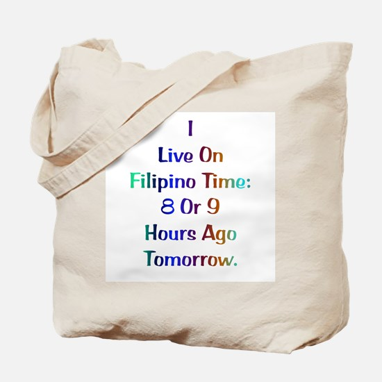 Filipino Time Gifts Tote Bag