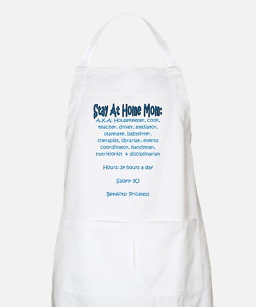Stay At Home Mom (JD) BBQ Apron