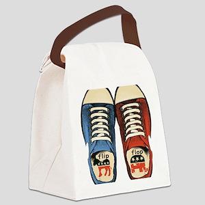 Politics Canvas Lunch Bag