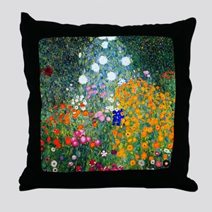 Klimt Throw Pillow