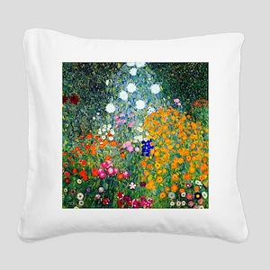 Klimt Square Canvas Pillow