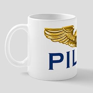 WingsPilotOnly12x5TRANS Mug