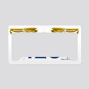 WingsPilotOnly12x5TRANS License Plate Holder