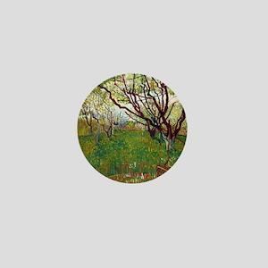 Van Gogh Cherry Tree Mini Button