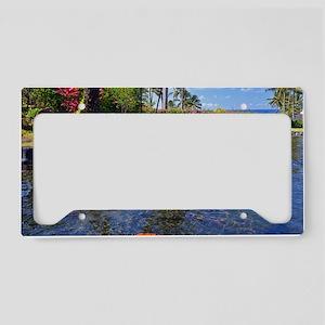 Kauai Serenity License Plate Holder