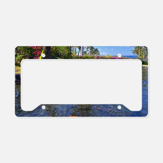 Kauai Serenity License Plate Holder