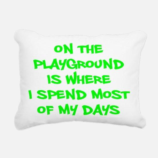 Cute Toddler Rectangular Canvas Pillow
