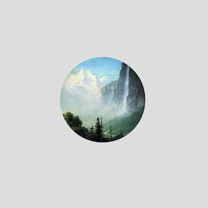 Albert Bierstadt Staubbach Falls Mini Button