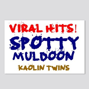 VIRAL HITS - SPOTTY MULDO Postcards (Package of 8)