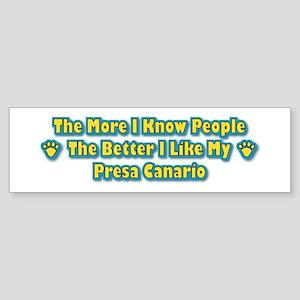 Like Presa Bumper Sticker