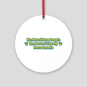 Like Presa Ornament (Round)
