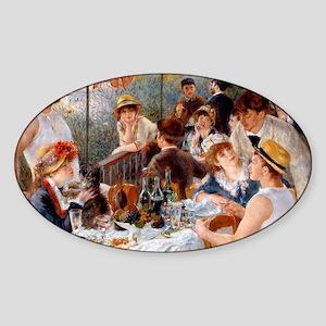 Pierre-Auguste Renoir Sticker (Oval)