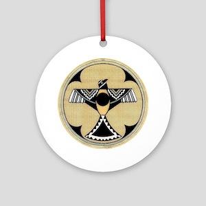 MIMBRES EAGLES PRIDE BOWL Ornament (Round)