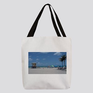 HOLLYWOOD BEACH Polyester Tote Bag