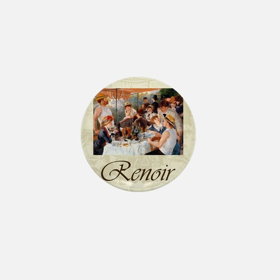 Renoir Luncheon Of The Boating Party Mini Button