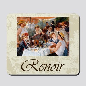 Renoir Luncheon Of The Boating Party Mousepad