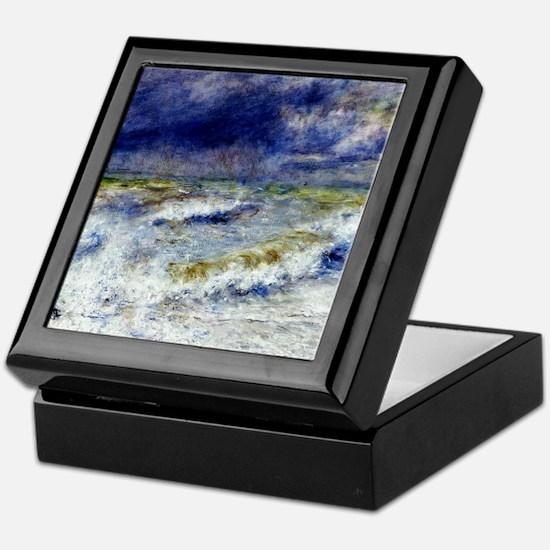 Renoir Seascape Keepsake Box