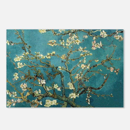 Van Gogh Almond Branches  Postcards (Package of 8)