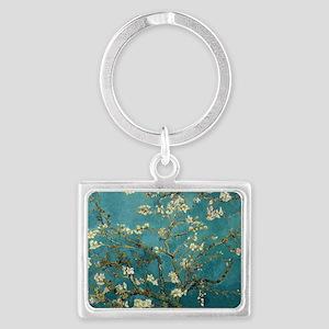 Van Gogh Almond Branches In Blo Landscape Keychain