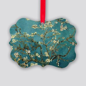 Van Gogh Almond Branches In Bloom Picture Ornament