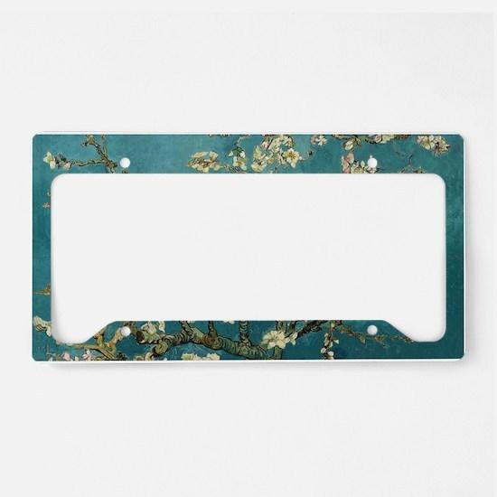 Art license plate frames cafepress van gogh almond branches in b license plate holder solutioingenieria Choice Image