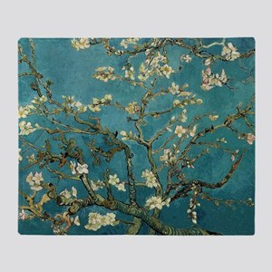 Van Gogh Almond Branches In Bloom Throw Blanket
