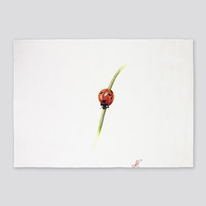 sibir ladybug 5'x7'Area Rug