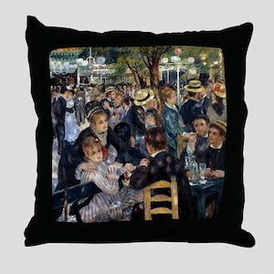 Renoir Ball Throw Pillow