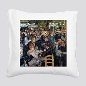 Renoir Ball Square Canvas Pillow
