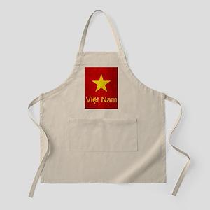 Grunge Vietnam Flag Apron