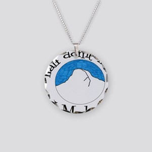 Half Dome Hike I Made It! Necklace Circle Charm