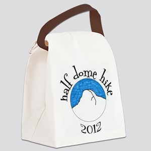 Half Dome Hike 2012 Colored Canvas Lunch Bag