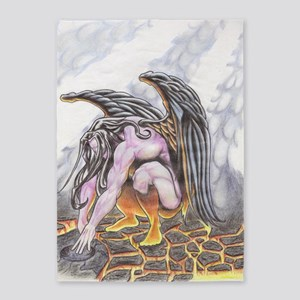 Fallen Angel 5'x7'Area Rug