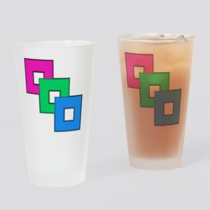 Polysexual Pride Drinking Glass