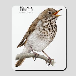 Hermit Thrush Mousepad