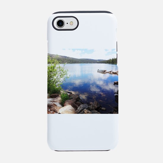 Canoe on the Lake iPhone 7 Tough Case
