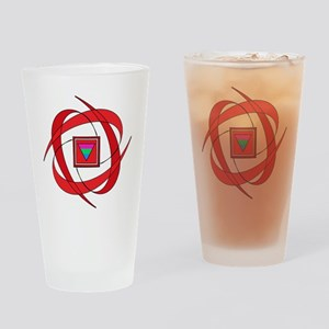 Flux Love Polysexual Drinking Glass
