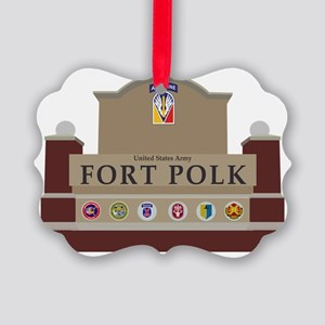 Fort Polk Picture Ornament