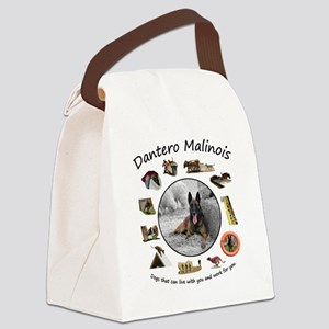 Dantero Malinois - dogs that can  Canvas Lunch Bag