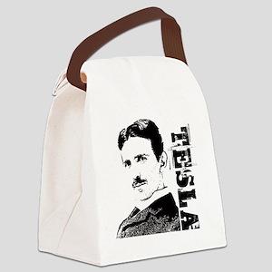 Tesla Fan Canvas Lunch Bag