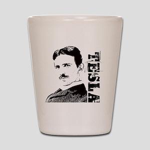 Tesla Fan Shot Glass