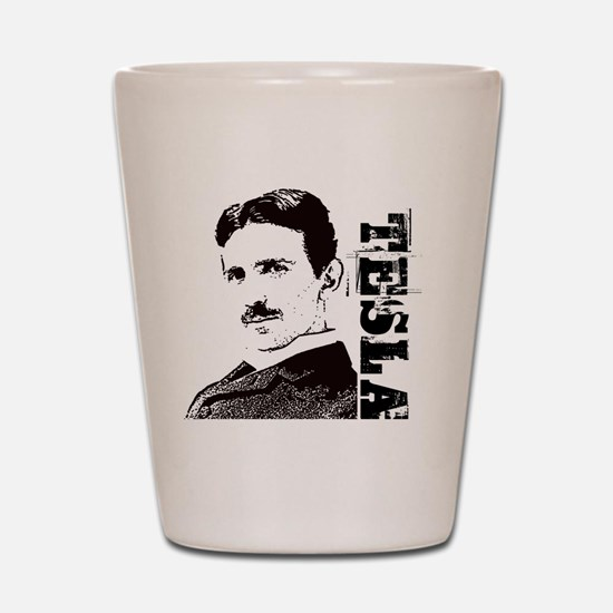 Tesla Fan Shot Glass