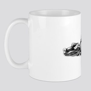 uss lawrence white letters Mug