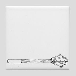 Mace for Dark Tile Coaster