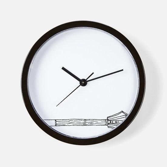 Mace for Dark Wall Clock