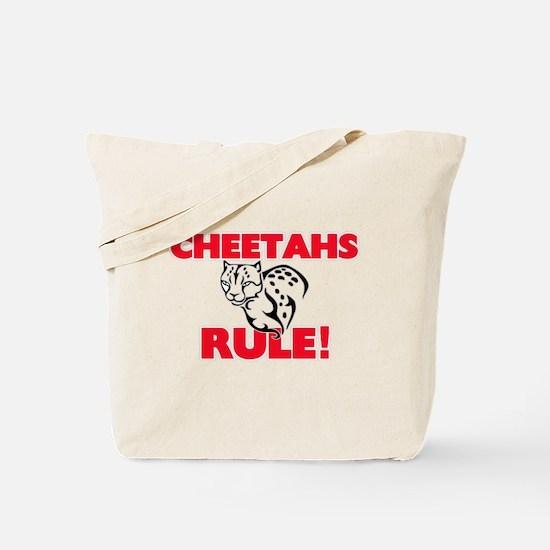 Cheetahs Rule! Tote Bag