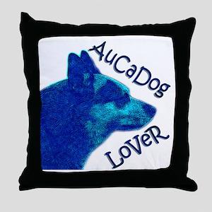 AuCaDog Lover Throw Pillow